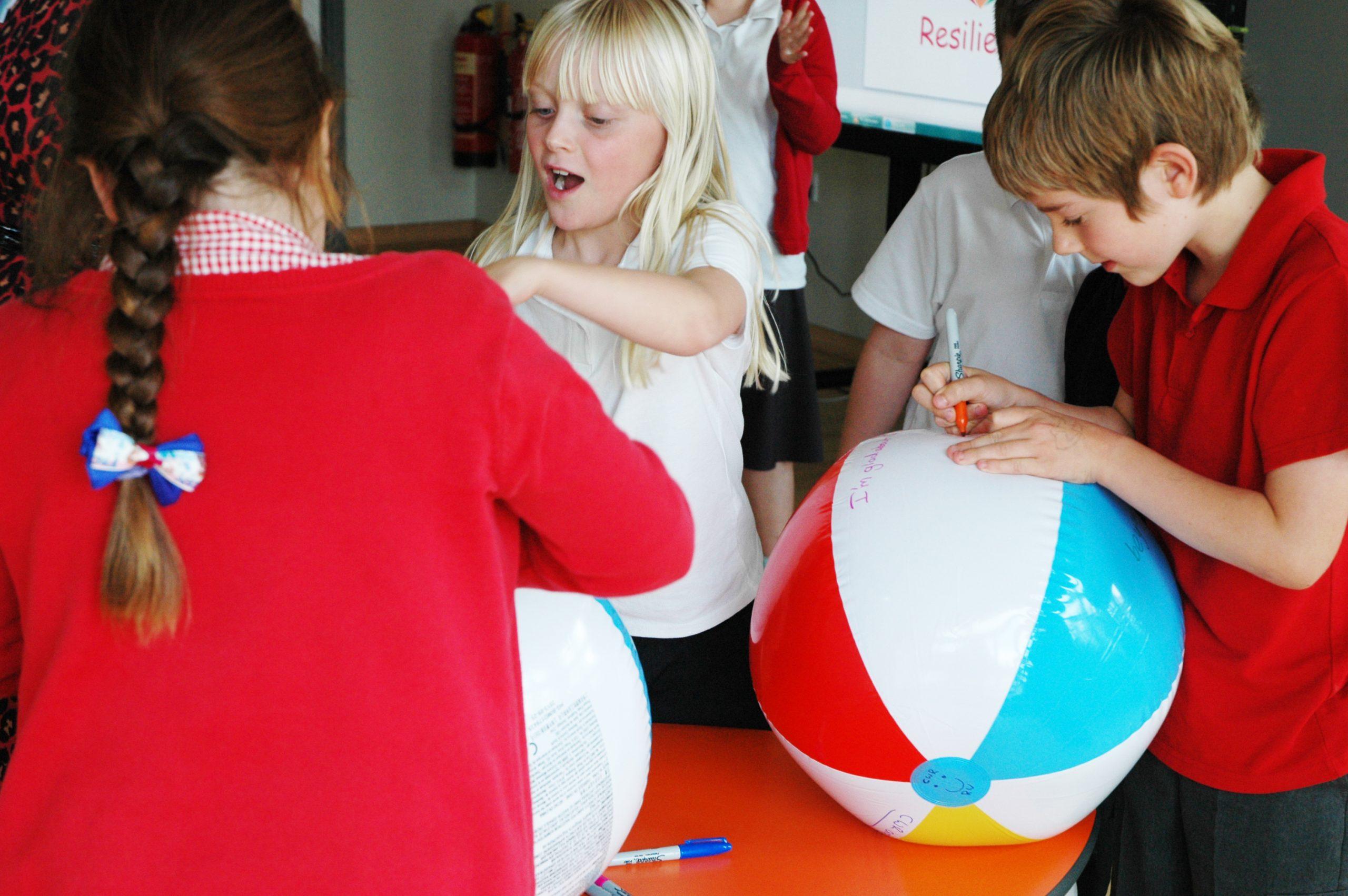 Wellbeing workshops for children | gratitude activity