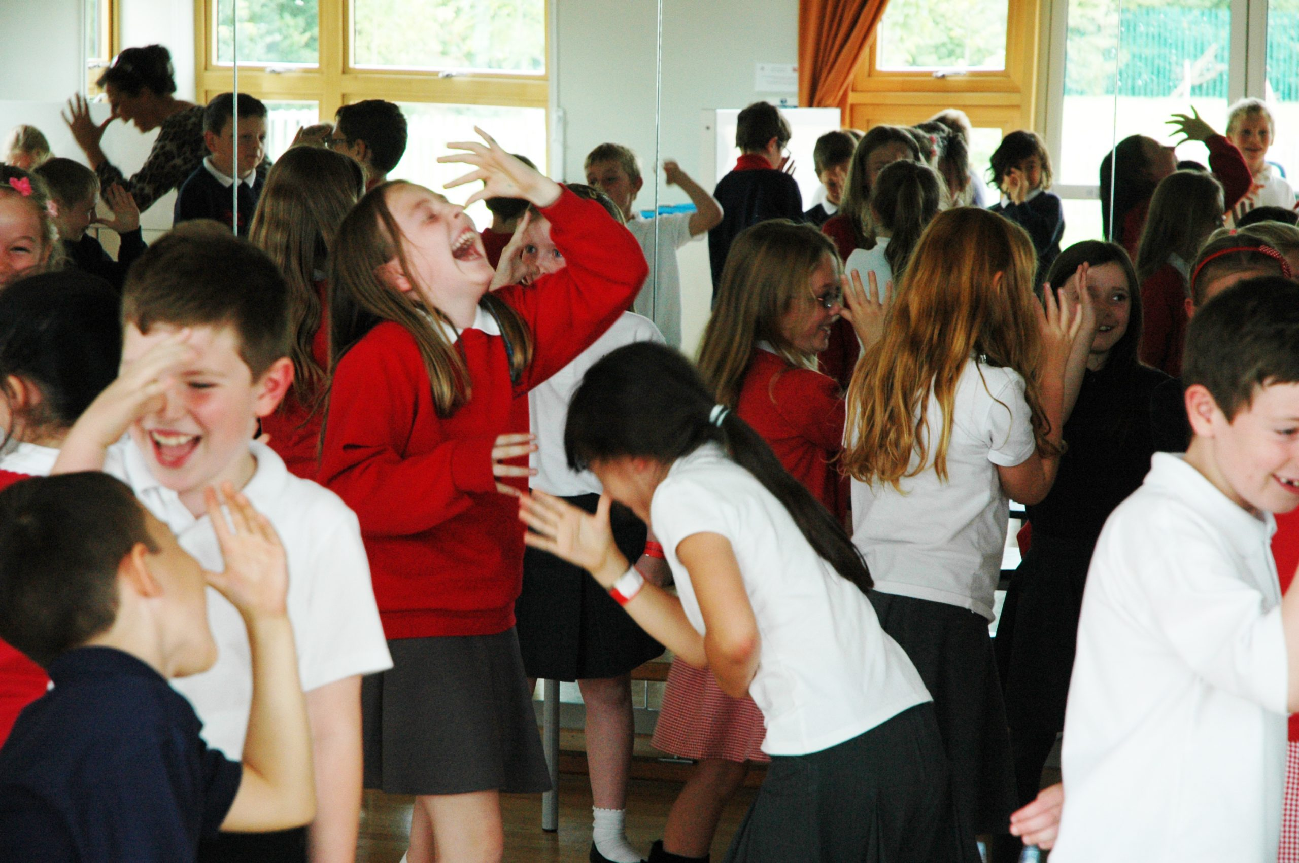 Wellbeing training for children | laughter yoga workshop